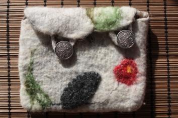 Double button wallet £25